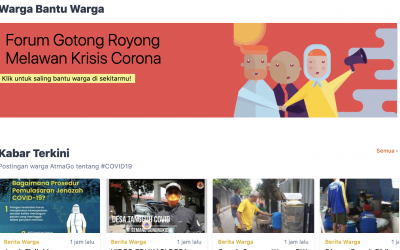 Community Centered Communication for Behavior Change: Launching the AtmaGo Covid-19 Website